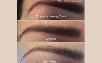 Henna Brows, houd nu langer die mooie volle wenkbrauw!
