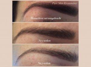 Henna brow-wenkbrauw verf